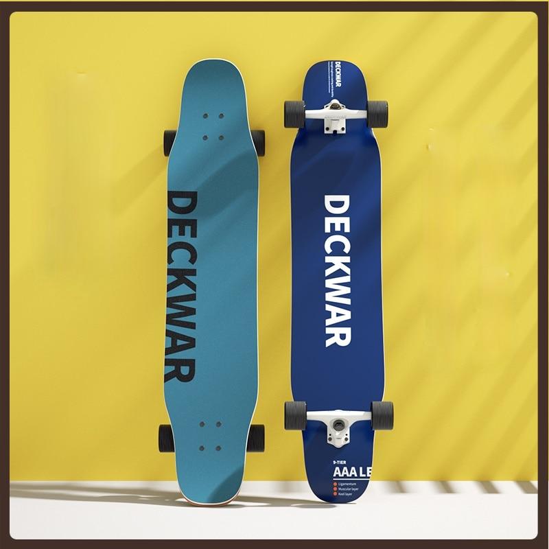 Longboard Skateboard Wheels Scooter Freestyle 4 Wheel Skateboard Professional Teenagers Planche De Skate Fitness Equipment