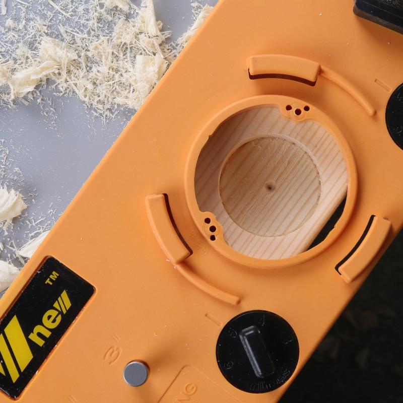 Ukryty 35mm zawias w stylu kubka prowadnica wiertarska do otworów + - Wiertło - Zdjęcie 4