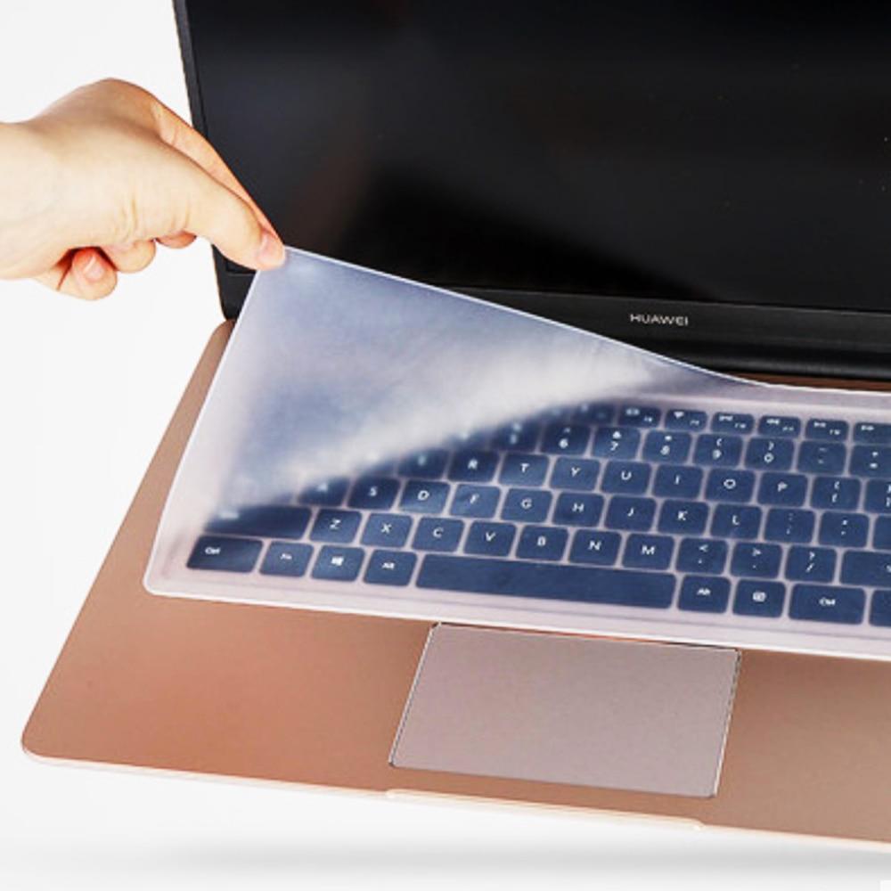 Универсальный защитный чехол для клавиатуры компьютера и ноутбука, водонепроницаемая прозрачная защитная пленка для клавиатуры, силиконо...