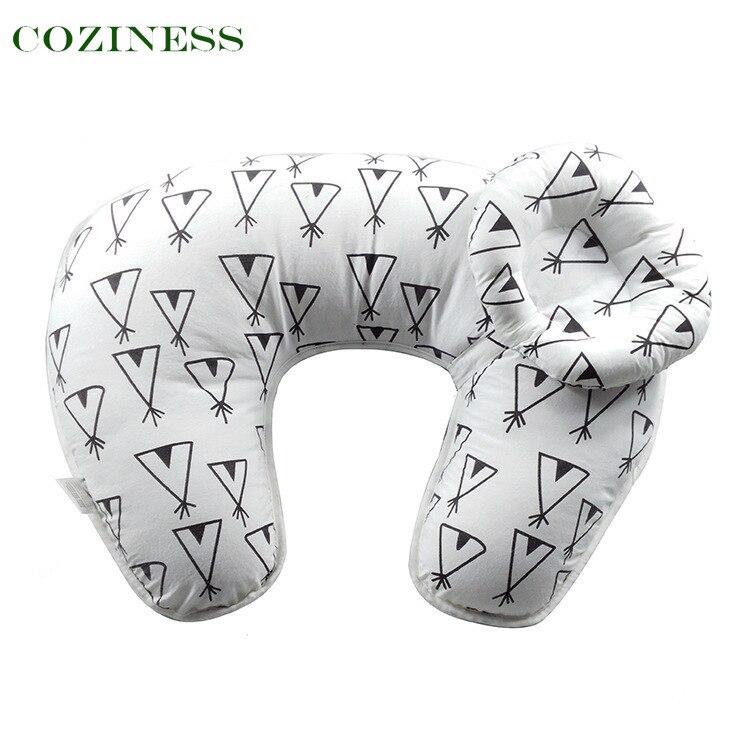 Подушка COZINESS U-образная для кормления, подушка для кормления мамы, товары для обучения и беременности, постельное белье, многоцветная дышаща...