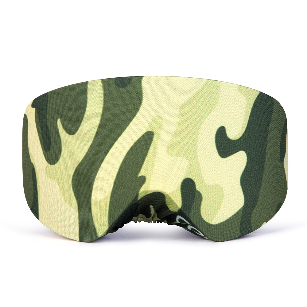 Protable elástico proteção máscara capa para snowboard óculos de vidro anti-risco à prova de poeira armazenamento manga saco de esqui eyewear guarda