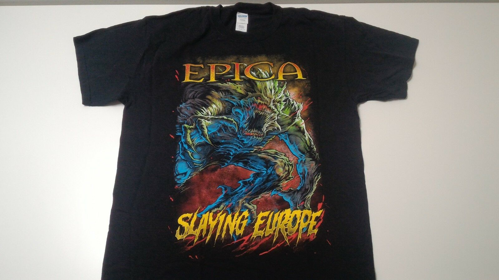 Epica Event camiseta último principio Tour talla L