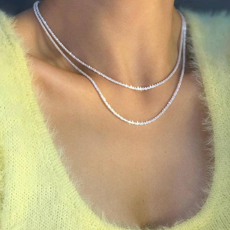Женское-колье-из-серебра-925-пробы-с-блестящей-цепочкой-до-ключиц