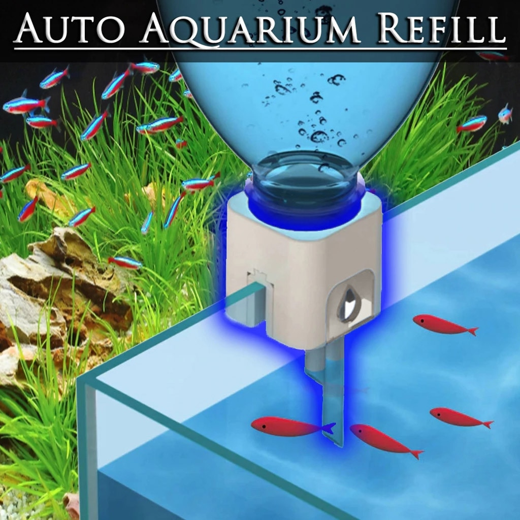 Мини нано повесить на авто наполнитель бутылок заправка сверху от системы аквариума sytem ABS пластиковый аквариум аквариума аквариум автоматический водный гидратор