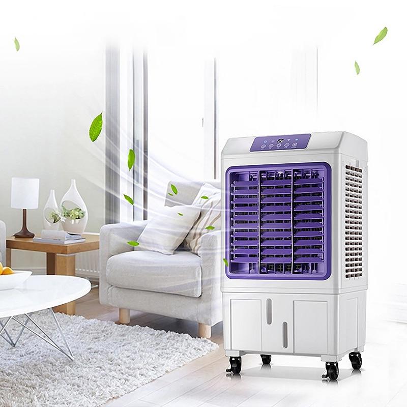 Роскошный бытовой вентилятор холодный вентилятор чиллер кондиционер механический пульт дистанционного управления одно охлаждение холоди...