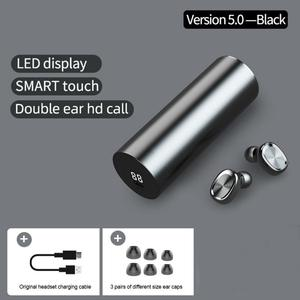 Bluetooth 5.0 Headset TWS Wireless Earphones Mini Stereo Headphones Earbuds with LED Display Charging box case For Smart phone