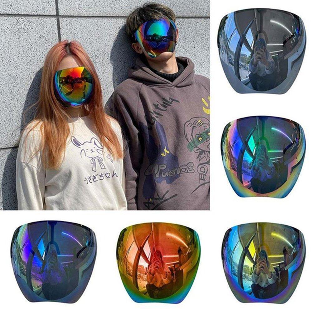 Новые солнцезащитные очки для женщин и мужчин, защитные очки для лица, защитные очки с полным покрытием лица и сферическими линзами, Защитны... очки защитные с лупой и дополнительными линзами sparta 913835