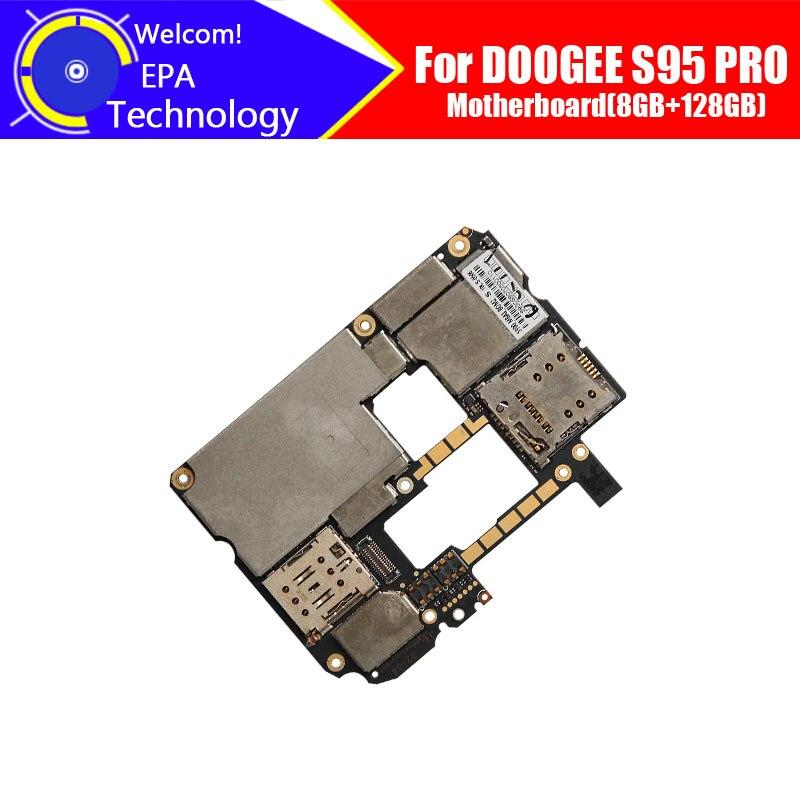 DOOGEE S95 PRO لوحة الأم 8GB + 128GB 100% الأصلي للوحة الأم 8GB + 128GB استبدال الملحقات للهاتف DOOGEE S95 PRO