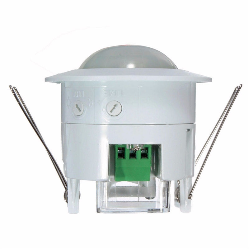 AC 220 V-240 V Mini empotrado PIR techo ocupación movimiento Sensor Interruptor del detector 360 grados casa herramienta luz 50Hz