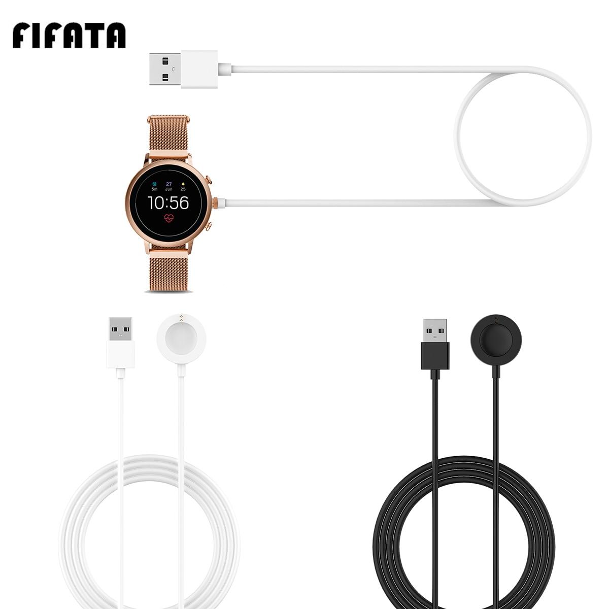 Зарядное устройство FIFATA 1 м Fossil Magnet для Fossil Gen 4/Gen 5/Emporio Армани/Skagen flaster 2/Misfit Vapor 2 Smart Watch