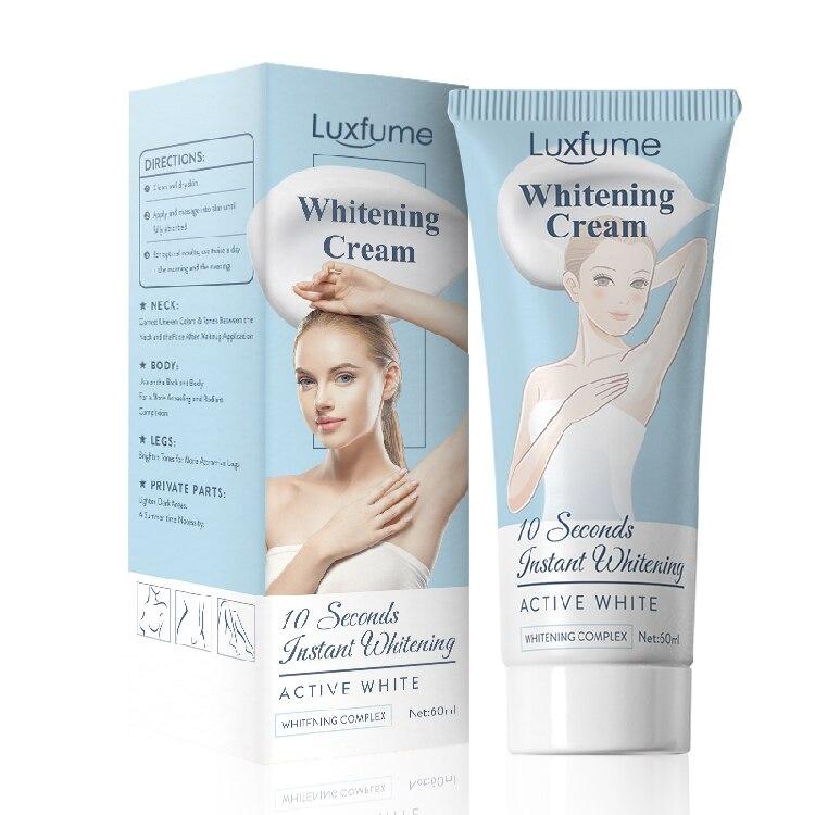 10S Achselhöhle Bleaching Creme Haut Aufhellung Bleichen Creme Für Unterarm Dunkle Haut Beine Knie Bleaching Intime Körper Lotion TSLM