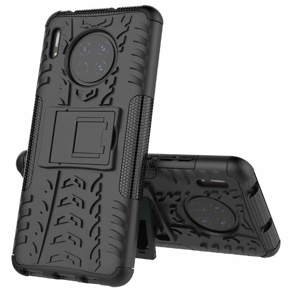 "Hard Plastic Soft Silicone Hybrid For Samsung Galaxy A10E 5.83"" Case Armor Stand PC TPU Cover For Samsung A10E SM-A102F/DS Capa"