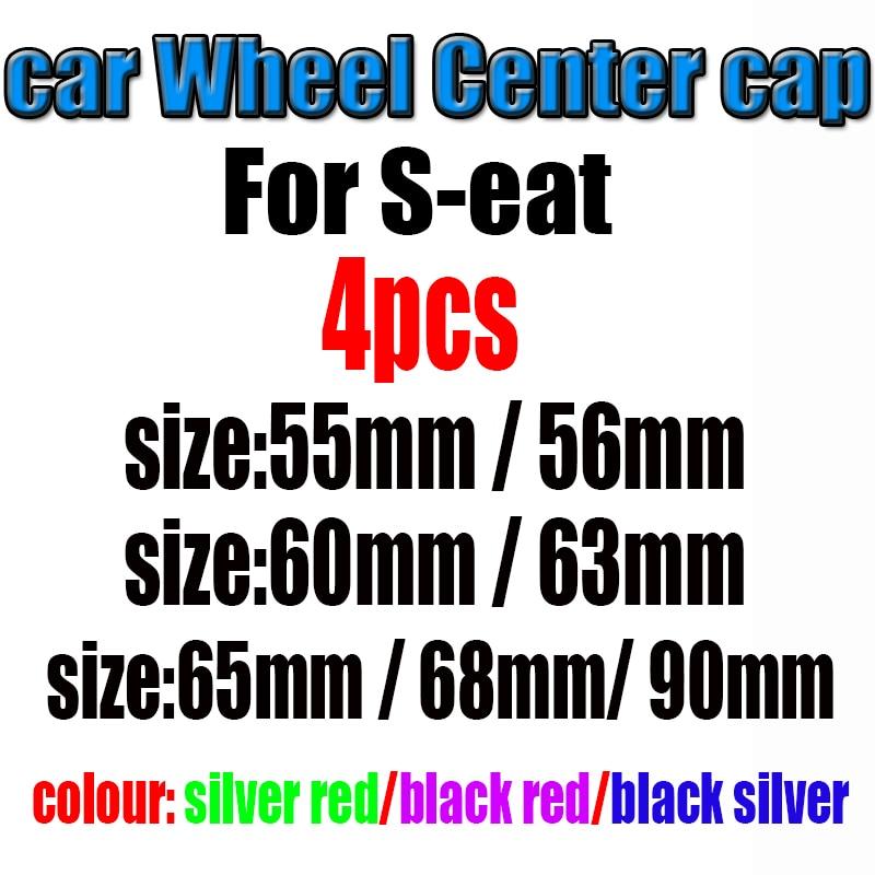 4 stücke 55mm 56mm 60mm 63mm 65mm 68mm 90mm logo auto emblem Rad center Hub Cap auto Felge refit staub-proof abzeichen abdeckungen aufkleber XYT