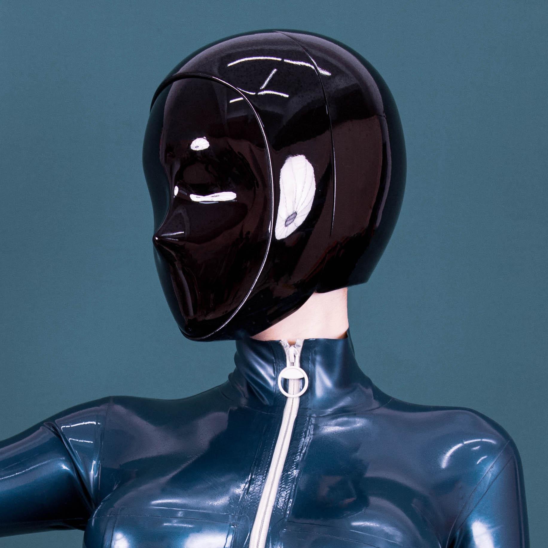 (GT-01)Crossdress تخصيص ManiaJuns كامل قناع الرأس 'متابعة' Shemale الذكور إلى الإناث قناع دمية