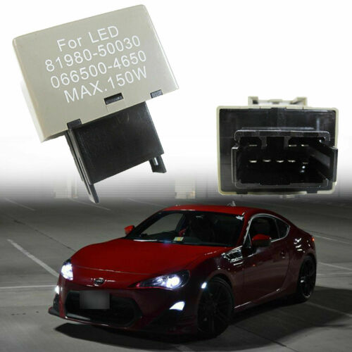 Correction de relais clignotant à 8 broches 1 pièce   Correction de relais pour Lexus Scion ampoules