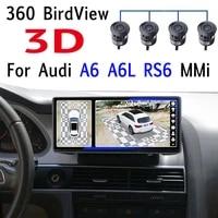 for audi a6 rs6 4f c6 mmi tdi tfsi 360 birdview car stereo audio accessories navigation gps navi radio carpplay 10 25 screen