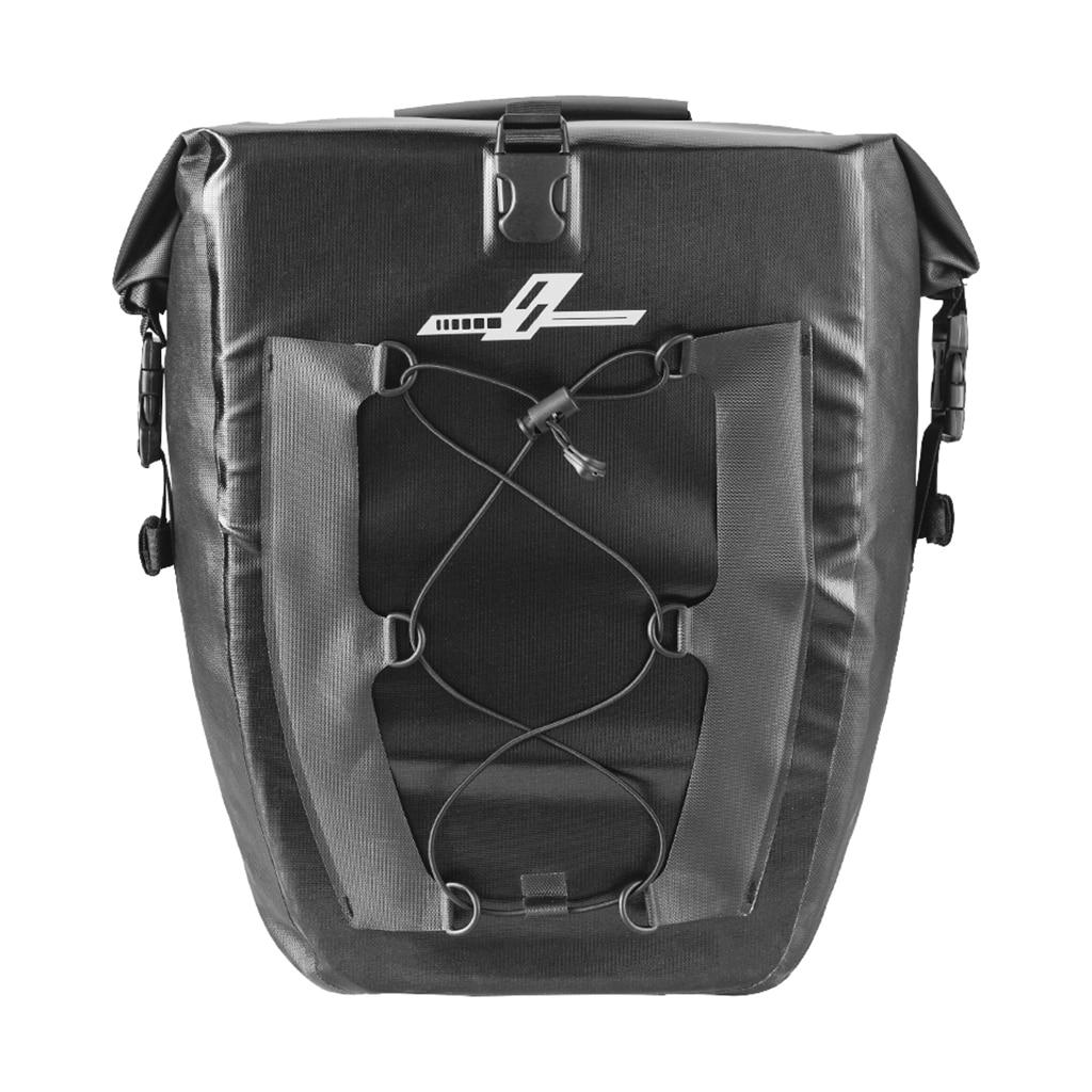 27L Alforjas para bicicleta impermeable bicicleta asiento trasero sillín bolsa de mano