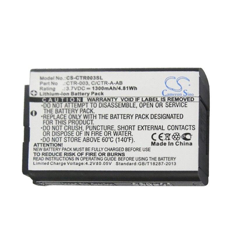 CameronSino para NINTENDO 2DS XL 3DS CTR-001-JAN-001 MIN-CTR-001 C/CTR-A-AB CTR-003 batería