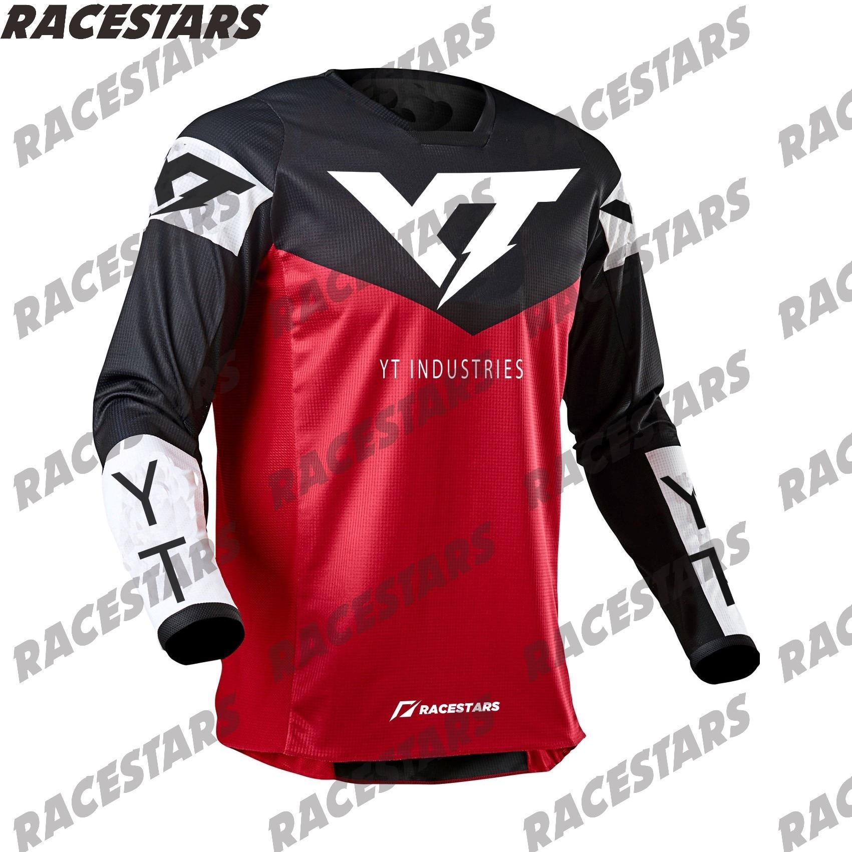 YT industrias Camiseta de Ciclismo Downhill Maillot Ciclismo Hombre Enduro Racing Motocross...