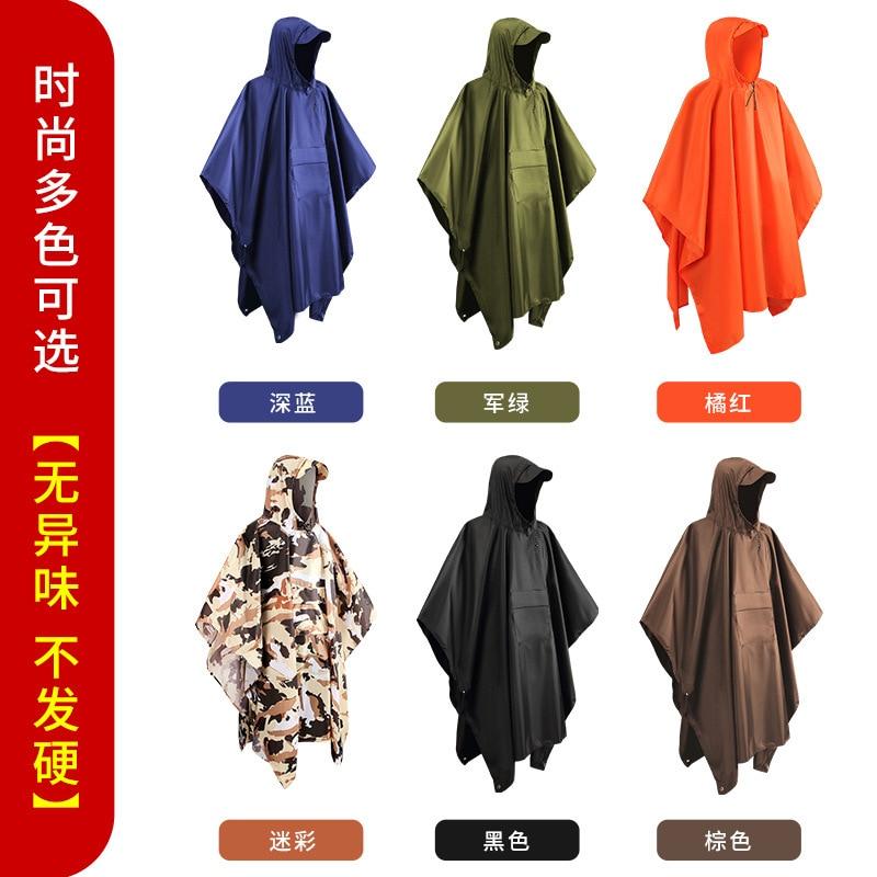 Motorcycle Cloak Raincoat Men Travel Long Bicycle Hiking Raincoat Women Fashion Antipioggia Moto Household Merchandises AG50YY enlarge