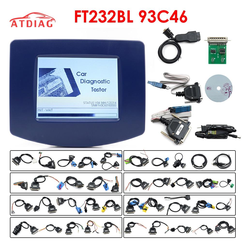 FTDI 2019Top envío gratuito con DHL v4.94 digiprog iii odómetro corrección Digiprog 3 herramienta de corrección de kilometraje programador completo V4.94 Digiprog3