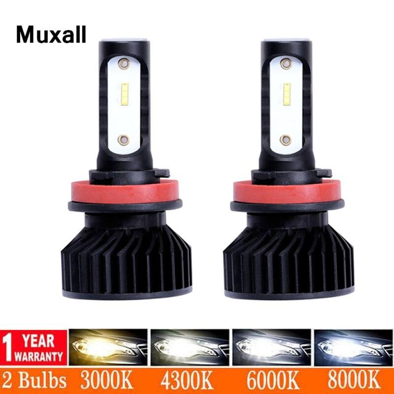 Car headlight H7 LED bulbs H4 HB3 HB4 9005 9006 H1 80W 12000lm CANBUS LED Bulb 6000K Headlamp H11 Fog Light Car-styling 12V 24V