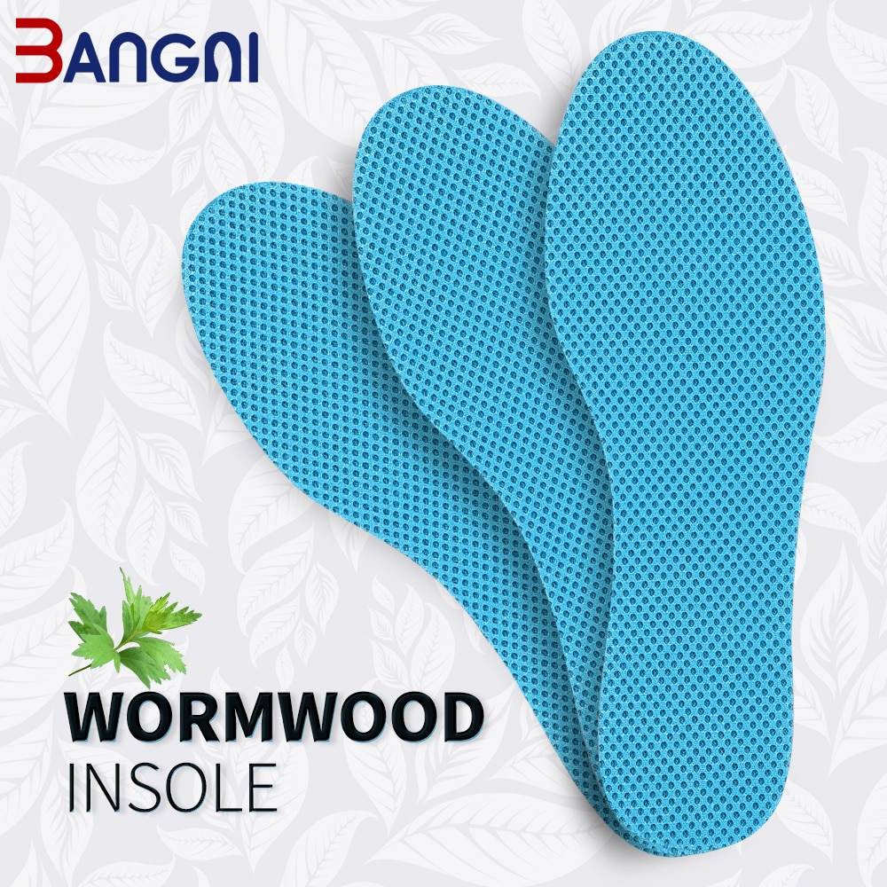 3 pairs lot disposable comfortable shoes insoles for men women white wood pulp soft inserts light palmilha for footwear BANGNI Wormwood Deodorization Insoles Soft Memory Foam Breathable Mesh Comfortable Shoes Pad Cushioning Inserts for Men Women