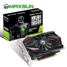 MAXSUN tarjeta gráfica gtx 1650 Transformers 4G NVIDIA 8000MHz 1485MHz GDDR5 128bit PCI Express X16 + HDMI + tarjeta de vídeo DVI + DP gtx1650