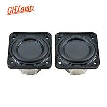 Ghxamp 1,75 дюймовый бас полный диапазон динамик 4 Ом 5 Вт двойной неодимовый динамик соединение диафрагма низкая частота для маленького аудио 2 шт.