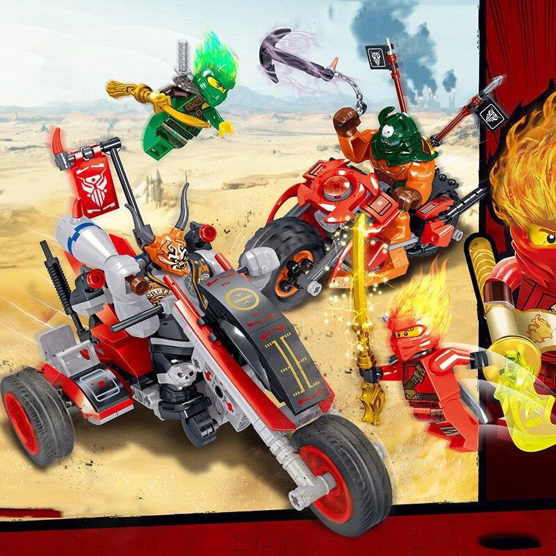 2020 ninja heroes série filme blocos de construção, conjuntos de blocos de construção, motocicleta lloyd dogshank, pequenas figuras de ação, brinquedos para crianças