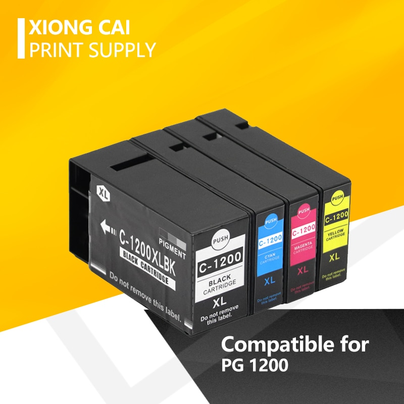 2020 neue mode Kompatibel für Canon PGI-1200 PGI1200 XL tinte patrone für Canon MAXIFY MB2020 MB2120 MB2320 MB2720 drucker
