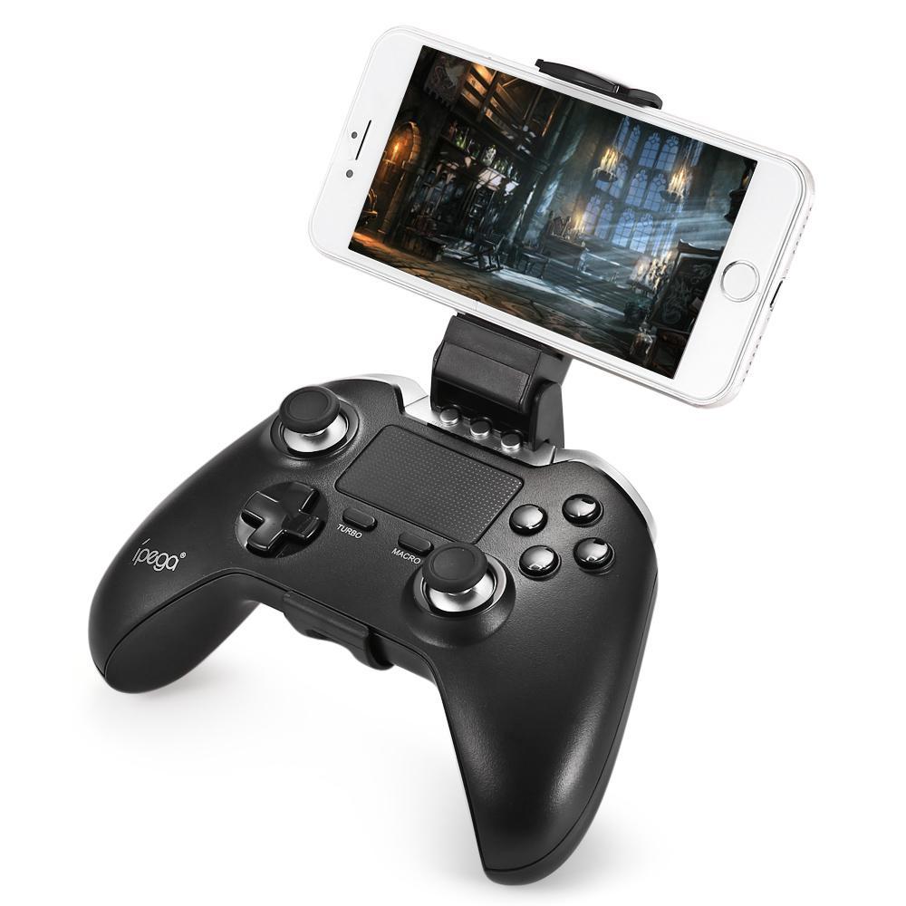 PG-9069 PG 9069 Wireless Gamepad Bluetooth Touchpad controlador de juego para Android/tableta iOS del teléfono de la PC de doble Motor de r25