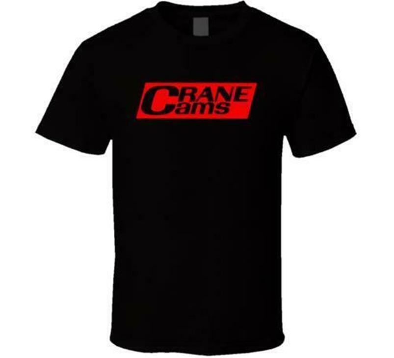 New Crane Cams, Inc Logo White Black Tee T-Shirt Usa Size S M L Xl Xxl 3Xl Fq1 Harajuku Funny Tee Shirt