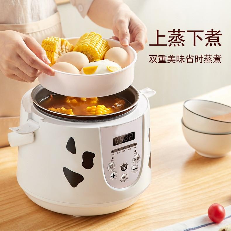 Cocina eléctrica multifuncional Mini pequeña cocina de arroz 2L Cocina eléctrica portátil fabricantes de aparatos eléctricos directa Sel