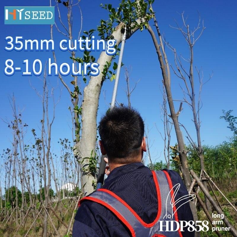 HISEED jardinage luxe professionnel télescopique haute branche cisailles haute altitude scie branche ciseaux aménagement paysager outils