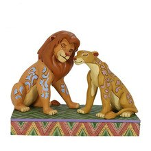 Disney le roi Lion Statue copie légale Simba Nala buste pleine longueur portrait résine Action Figure à collectionner modèle jouet W38