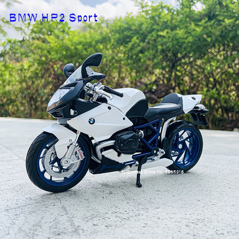 Спортивная модель Maisto 1:12 BMW HP2, Авторизованная модель мотоцикла из сплава для мотокросса, игрушечный автомобиль, Коллекционирование подарко...