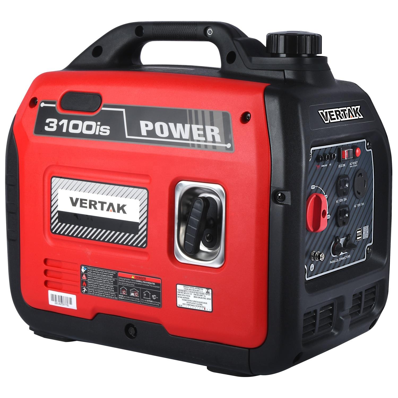 VERTAK المحمولة المنزلية 2800 واط معدات توليد البنزين الصغيرة سوبر مولد هادئ