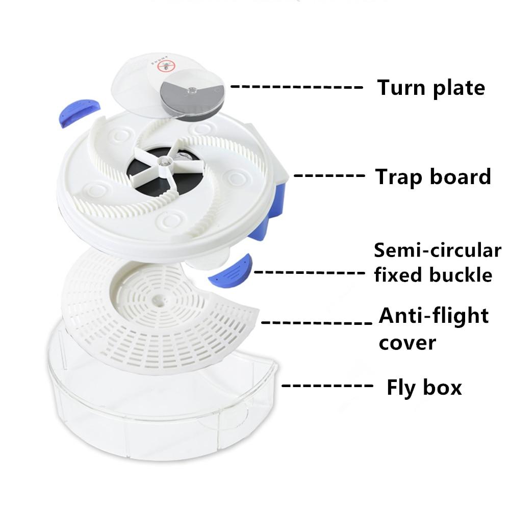 USB muselių gaudyklė automatinis kenkėjų gaudytojas musių - Sodo reikmenys - Nuotrauka 3