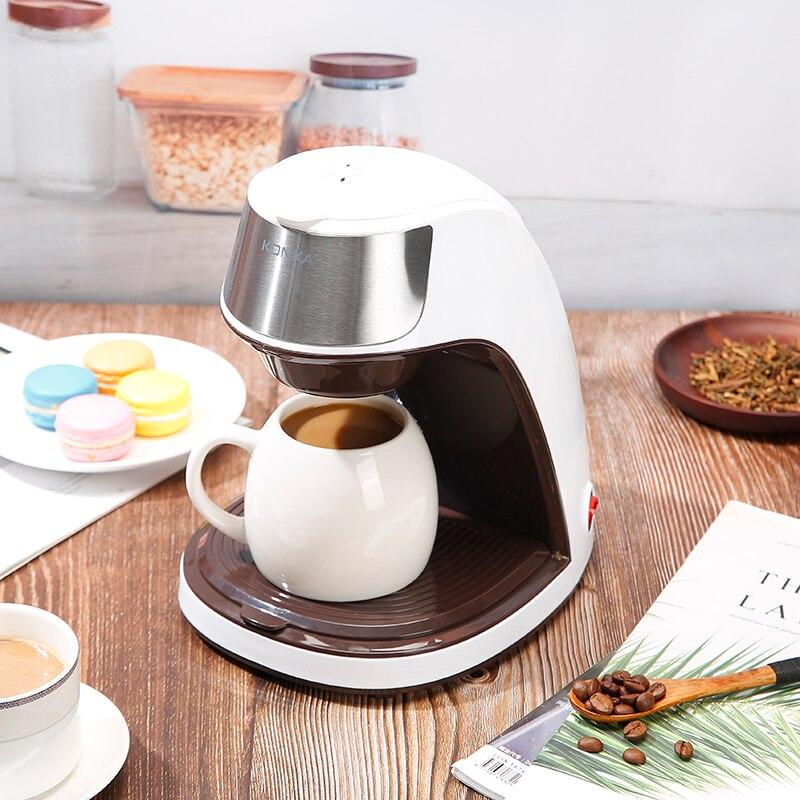 Домашний офис, специальная американская кофемашина, автоматическая капельная Кофеварка, приготовление чая, кофе в порошке, Бесплатная Кера...