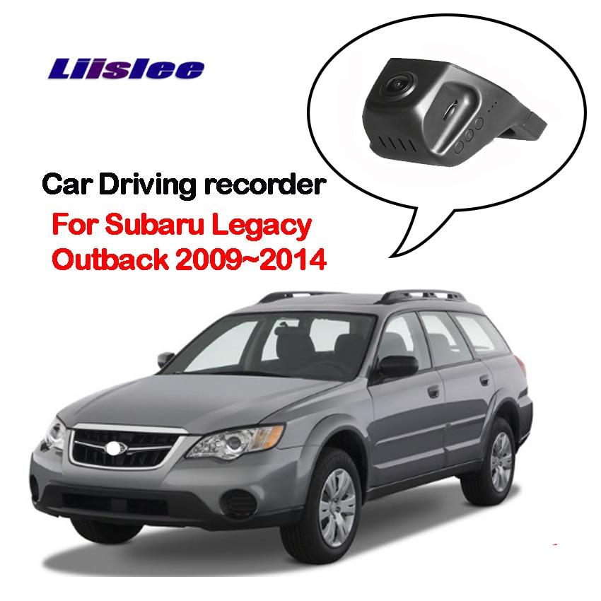 Liislee para Subaru legity Outback 2009 2010 2011-2014Car Driving Video Recorder pequeño inalámbrico Wifi DVR cámara de visión nocturna