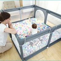indoor baby play ball pool children safety barrier kids basketball football playground foldable game tent railing for 0 6 years