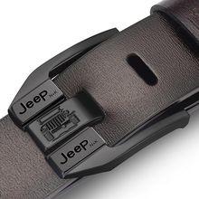 Pin Buckle belt male fashion leather belt men male genuine leather strap luxury pin buckle men's bel
