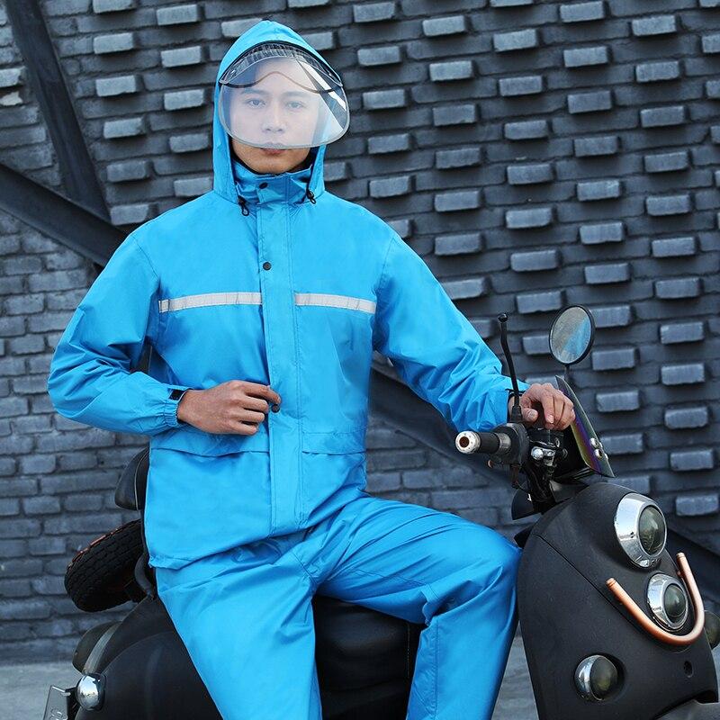 Chubasquero para motocicleta, Poncho impermeable para lluvia para mujer, para hombre, transpirable, rompevientos, traje de lluvia para mujeres, equipo de campo AC50RC