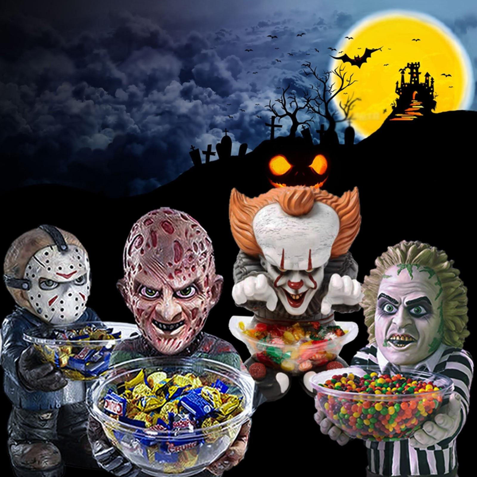 AFSDIY фокус или треа 2021 Хэллоуин клоун ужас Забавный карлик фокус и лечение Хэллоуин украшения для дома домашний декор ужас