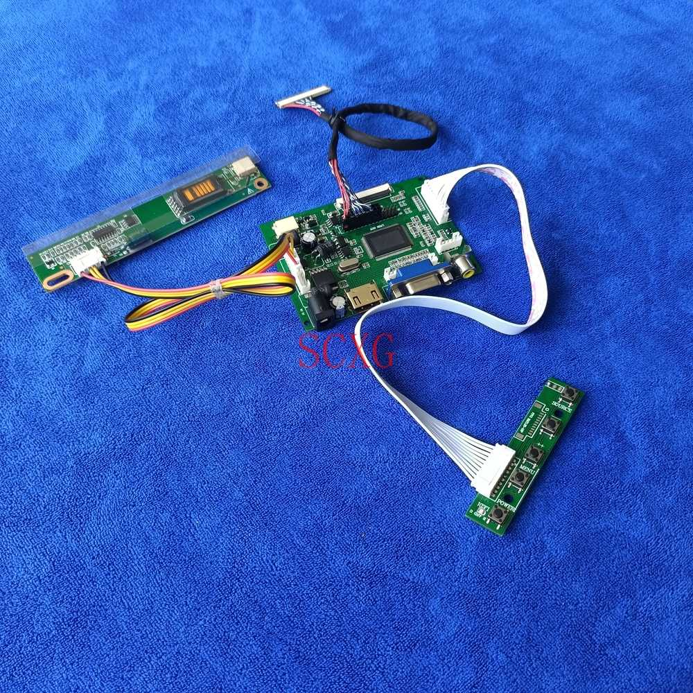لتقوم بها بنفسك عدة ل LTN154X1/LTN154X3/LTN154XA وحدة تحكم بشاشة إل سي دي محرك مجلس 1280*800 LVDS 30 دبوس 1-CCFL HDMI-متوافق مع AV VGA العرض
