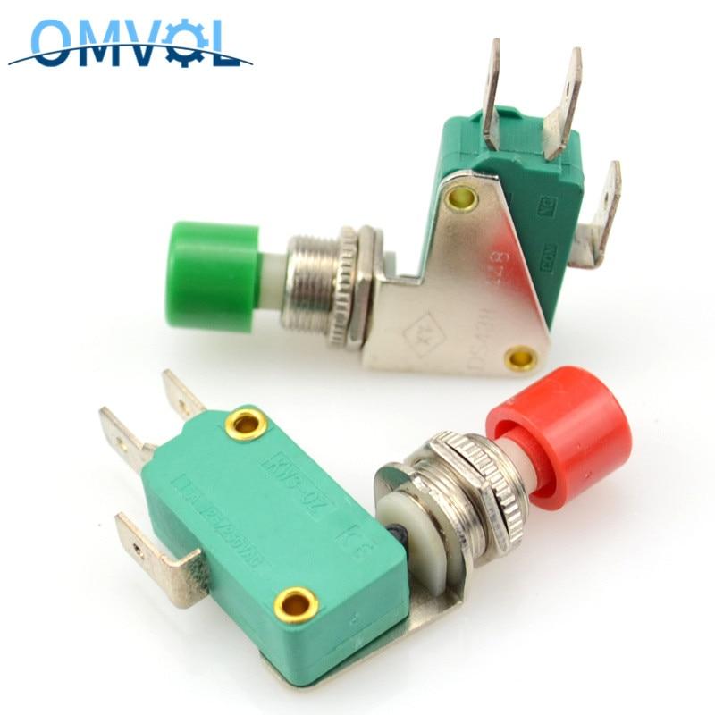 Interruptor de pressão de 1 pc, micro interruptor de pressão, interruptor de botão 12mm