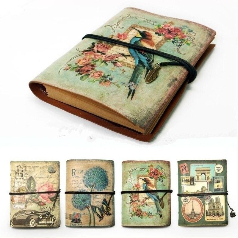 Женский оригинальный блокнот, органайзер из крафт-бумаги, блокнот для зарисовок, дневник, блокнот