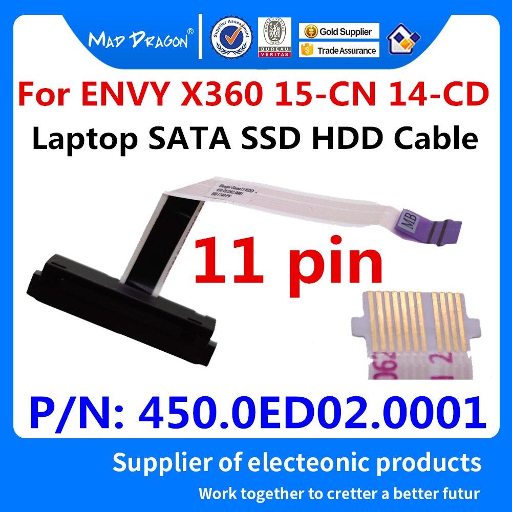 Nieuwe Originele Laptop Sata Ssd Hdd Harde Schijf Kabel Connector Voor Hp Envy X360 15-CN 14-Cd 15-CN0007TX 15-CN0006TX 450.0ED02.0001