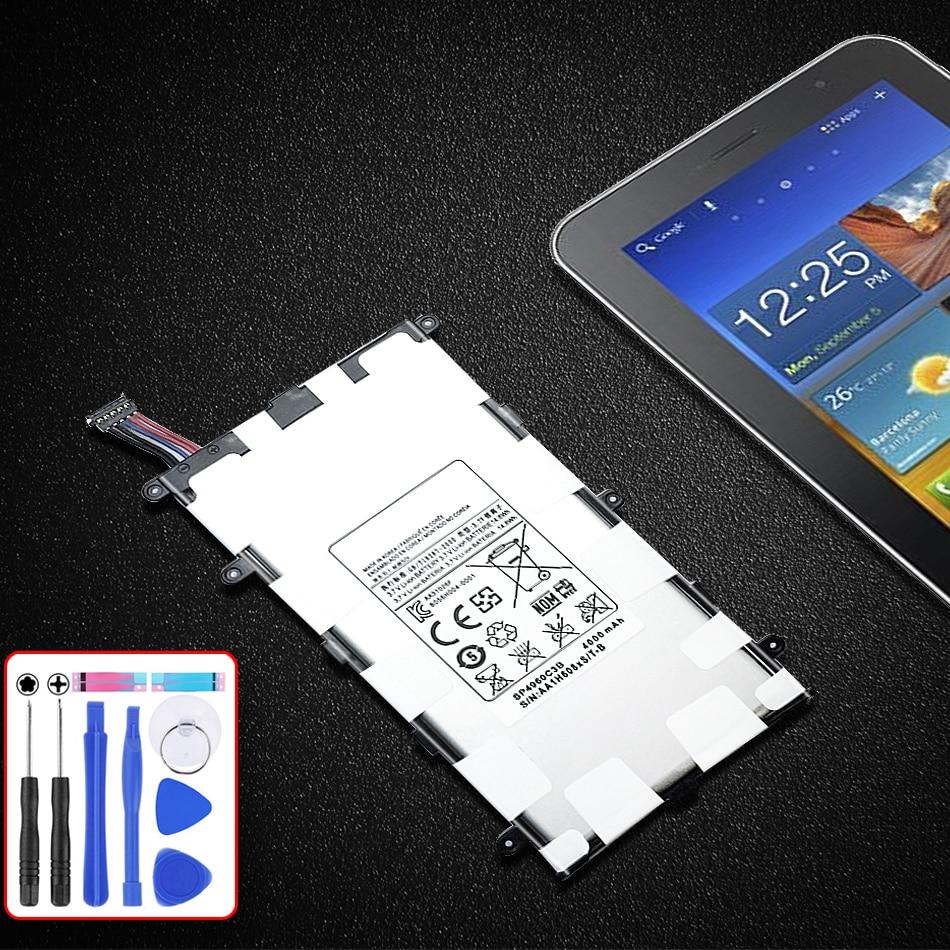 Batterie SP4960C3B Für Samsung GALAXY Tab 2 7,0 GT P3100 P3110 P3113 P6200 4000mAh Kapazität Batterie